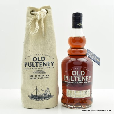 Old Pulteney 2004 12 Year Old La Maison Du Whisky 60th Anniversary