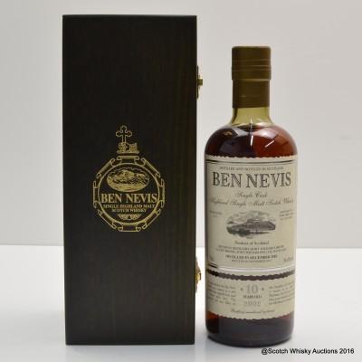 Ben Nevis 2002 10 Year Old