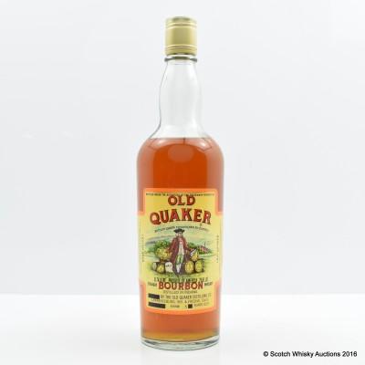 Old Quaker 5 Year Old Bourbon 26 Fl Oz