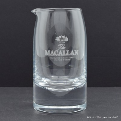 Macallan Glass Water Jug