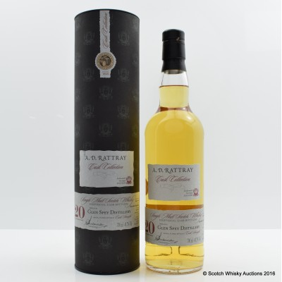 Glen Spey 1991 20 Year Old A.D. Rattray