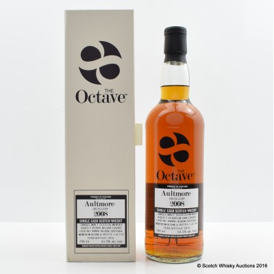 Aultmore 2008 7 Year Old The Octave Duncan Taylor
