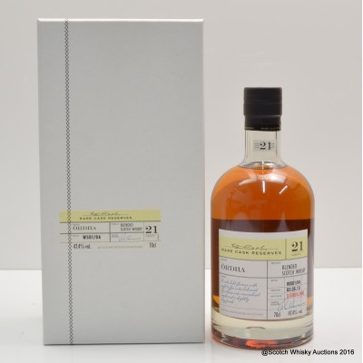 Ordha 21 Year Old Blended Scotch William Grant Rare Cask Reserves