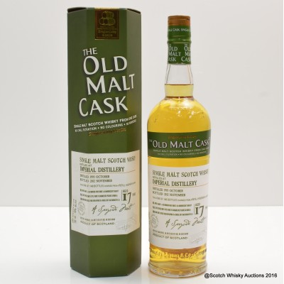 Imperial 1995 17 Year Old Old Malt Cask