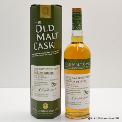 Macallan 1993 20 Year Old Old Malt Cask