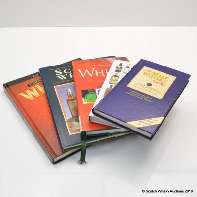 Assorted Whisky Books x 5