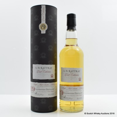 Glenrothes 1990 19 Year Old A.D. Rattray