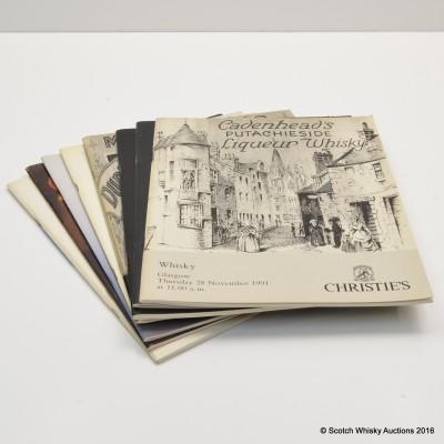 Christie's Catalogs x 8