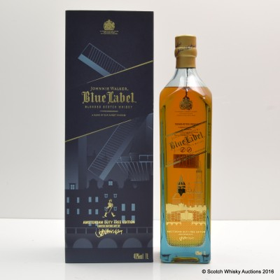 Johnnie Walker Blue Label Amsterdam Limited Edition 1L