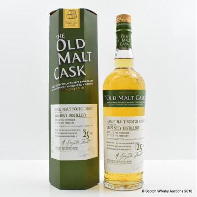 Glen Spey 1986 25 Year Old Old Malt Cask
