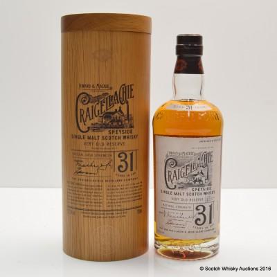 Craigellachie 31 Year Old