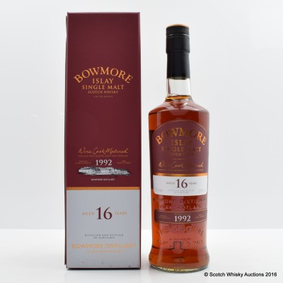 Bowmore 1992 16 Year Old