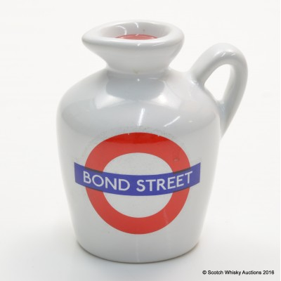 MACALLAN 10 YEAR OLD LONDON UNDERGROUND SERIES Bond Street CERAMIC MINI 5CL