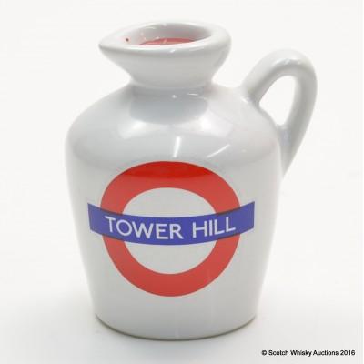 MACALLAN 10 YEAR OLD LONDON UNDERGROUND SERIES Tower Hill CERAMIC MINI 5CL