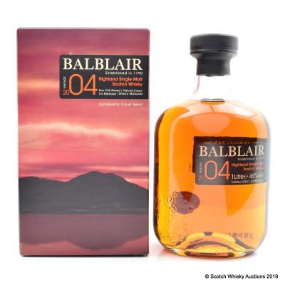 Balblair 2004 Sherry Matured First Release 1 Litre