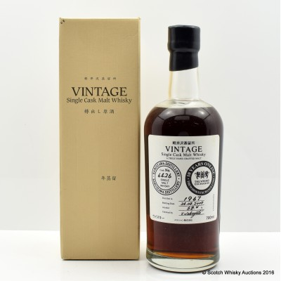 Karuizawa 1967 Vintage Cask #6426 The Whisky Exchange 10 Years Online