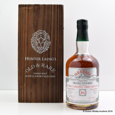 Probably Speyside's Finest Distillery 1967 46 Year Old Hunter Laing's Old & Rare