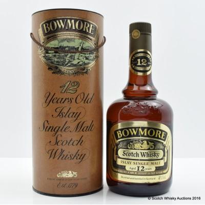 Bowmore 12 Year Old Dumpy Bottle 75cl