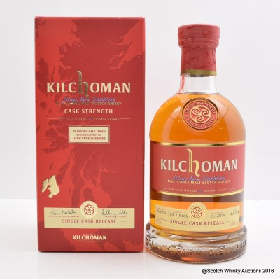 Kilchoman PX Sherry Cask Finish For Loch Fyne Whiskies