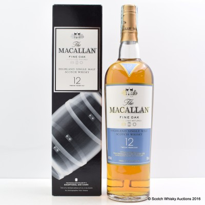Macallan Nick Veasey Exceptional Casks Fine Oak 12 Year Old
