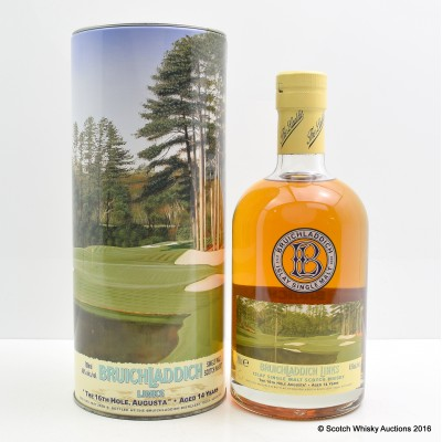 """Bruichladdich Links """"The 16th Hole Augusta"""" 14 Year Old"""