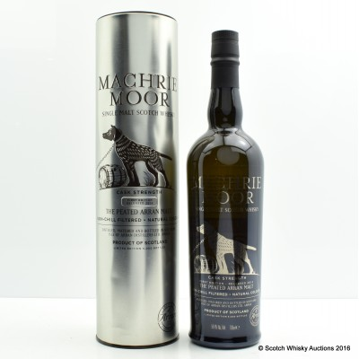 Arran Machrie Moor Cask Strength 1st Edition
