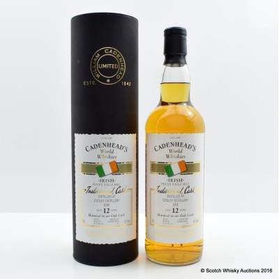 Cooley Peated 12 Year Old Cadenhead's