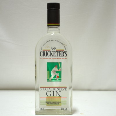 A. F. Cricketer's Gin