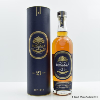 Royal Brackla Cawdor Estate 21 Year Old