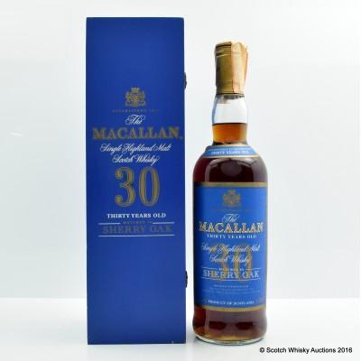 Macallan 30 Year Old Sherry Oak 75cl