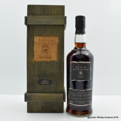 Bowmore Black 1964 3rd Edition