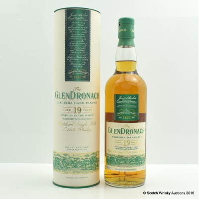 GlenDronach 19 Year Old Madeira Cask Finish
