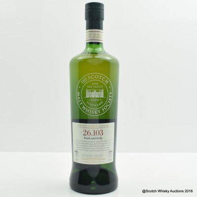 SMWS 26.103 Clynelish 2003 10 Year Old