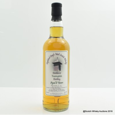 Tomatin 2006 8 Year Old Whisky Broker