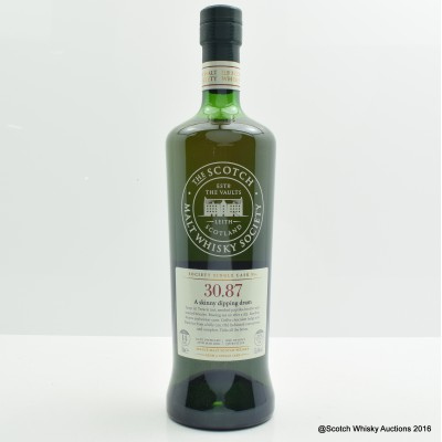 SMWS 30.87 Glenrothes 2001 14 Year Old