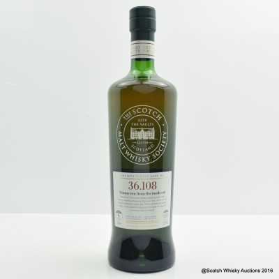 SMWS 36.108 Benrinnes 2007 9 Year Old