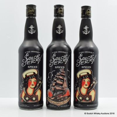 Sailor Jerry Limited Edition 3 x 70cl