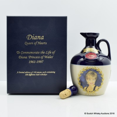 RUTHERFORD'S CERAMICS Diana Queen of Hearts