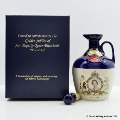 RUTHERFORD'S CERAMICS Queen Elizabeth Golden Jubilee