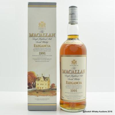 Macallan 1991 Elegancia 1L