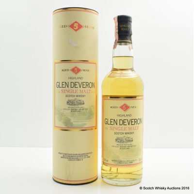 Glen Deveron 1989 5 Year Old