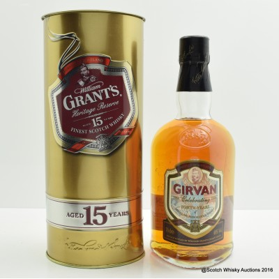 William Grant's 15 Year Old Girvan 40 Years Celebration