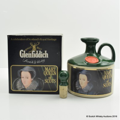 Glenfiddich Heritage Reserve Mary Queen of Scots Decanter 75cl