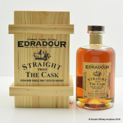 Edradour 2001 10 Year Old Straight From the Cask 50cl