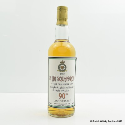12(B) Squadron 90th Anniversary 10 Year Old Highland Single Cask