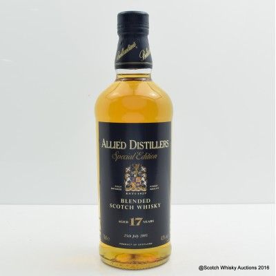 Allied Distillers 17 Year Old