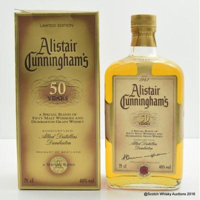 Alistair Cunningham 75cl