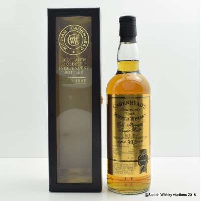 Glen Elgin-Glenlivet 1978 30 Year Old Cadenhead's
