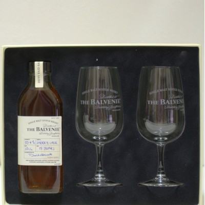 Balvenie 15 Year Old Tasting Kit 1 X 10cl 2 Glasses