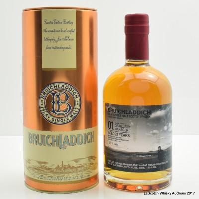 Bruichladdich Valinch 01 Alan Logan 50cl